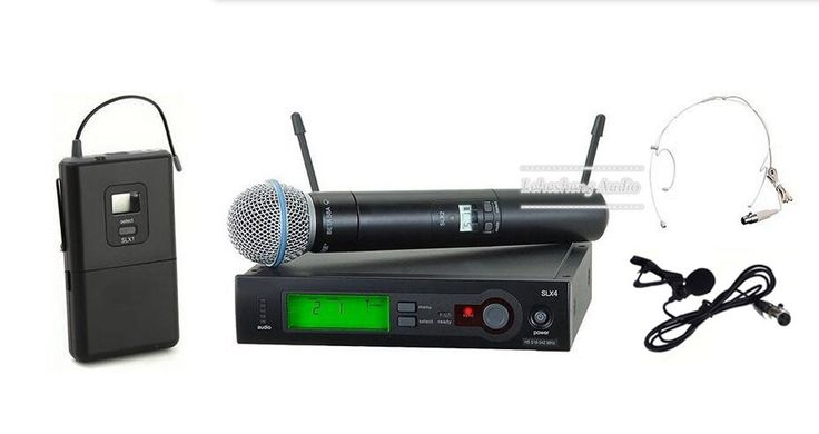 Professional UHF  Wireless Dual Microphone System SLX24/BETA58 58A microfone sem fio Discounted Smart Gear http://discountsmarttech.com/products/professional-uhf-wireless-dual-microphone-system-slx24beta58-58a-microfone-sem-fio/
