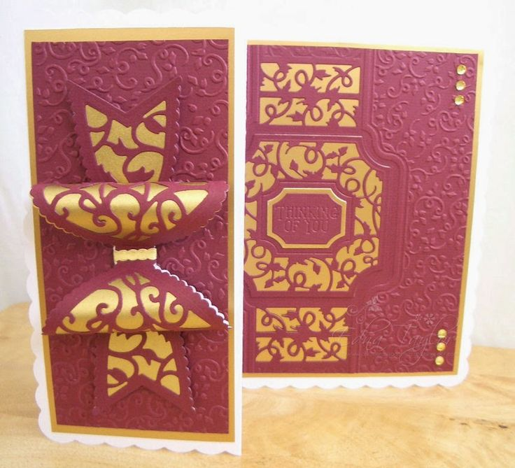 Another day, another card http://anotherdayanothercard.blogspot.co.uk/2014/10/gold-and-burgundy.html
