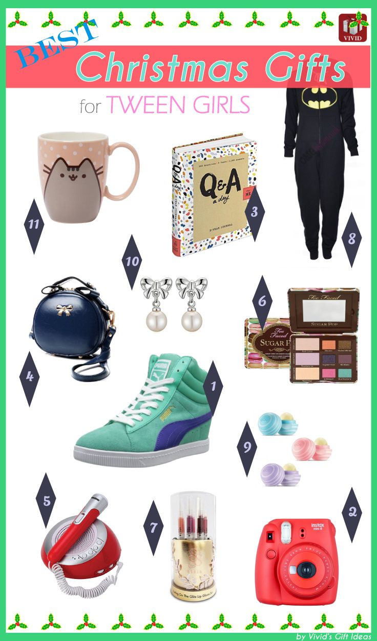 Best Christmas Gifts For Tween Girls