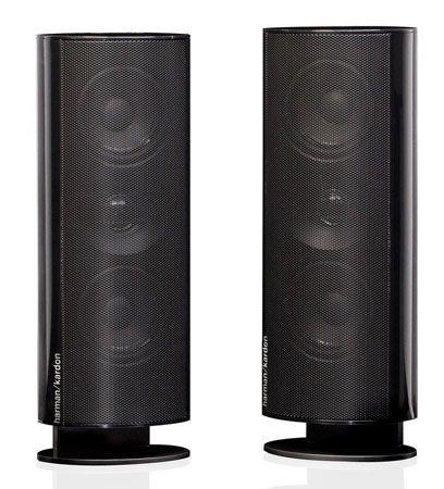 9. Harman Kardon HKTS 30 Satellite Speakers 30SAT-2 (Pair, Black)