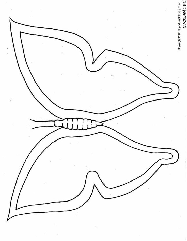 Butterfly Wings Coloring Pages