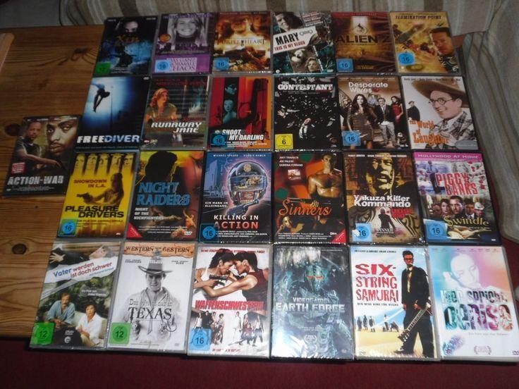 25 DVD FILME       OVP/NEU     ( PAKET 11 )
