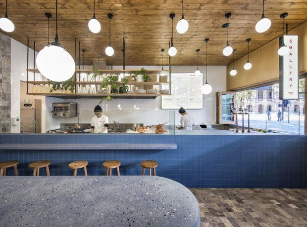 Why We Re Obsessed With Terrazzo Right Now Restaurant Interior