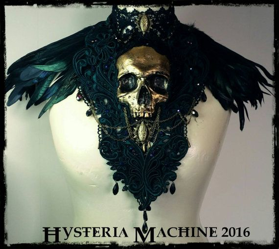 Ready Made Catacomb Couture Gold and Emerald by HysteriaMachine