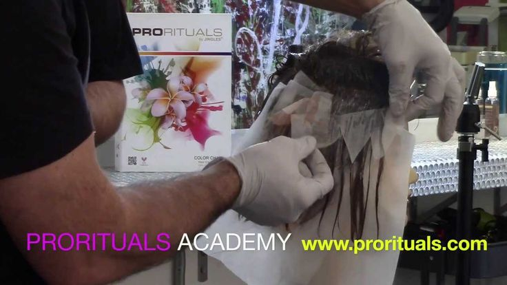Tortoise Shell Hair Coloring Technique, Professional Hair Color Education