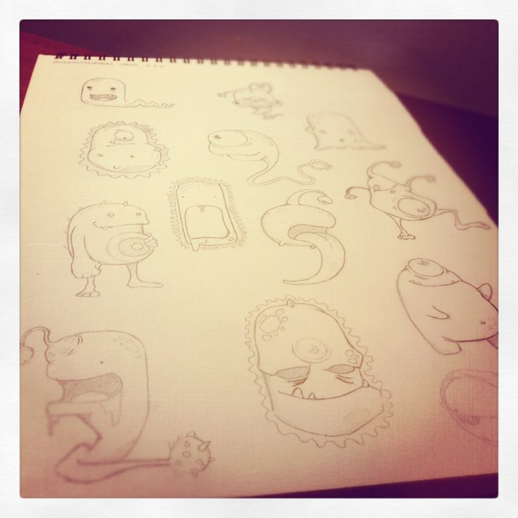 Sketching process for our first baby onesies collection!
