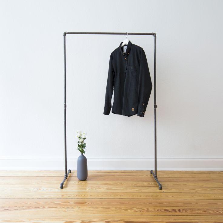 die besten 25 diy eisenrohr ideen auf pinterest. Black Bedroom Furniture Sets. Home Design Ideas