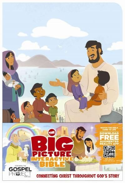 The Big Picture Interactive Bible for Kids: Holman Christian Standard Bible