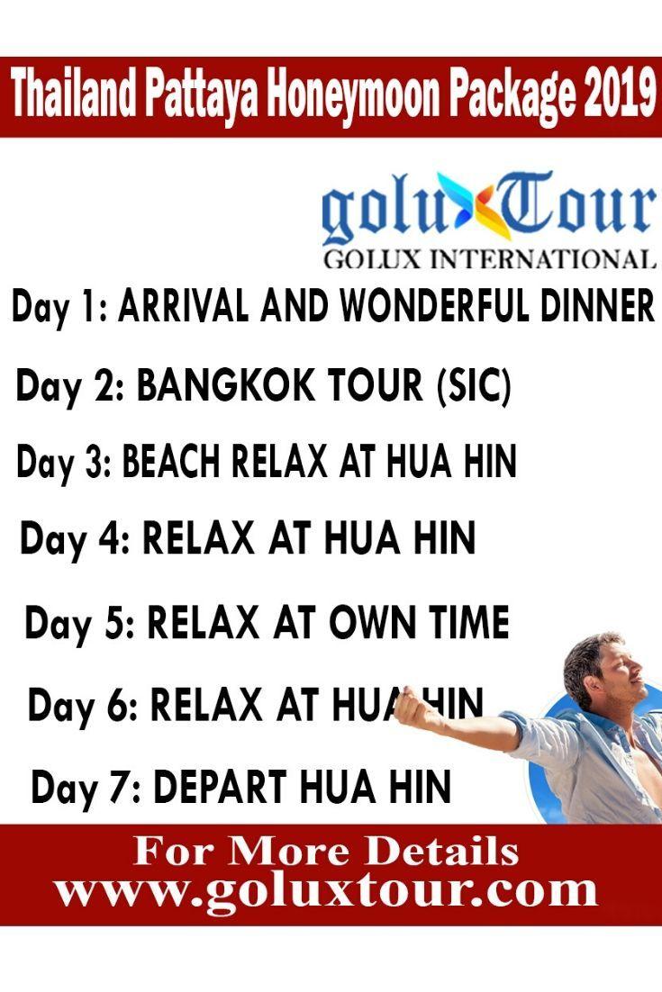 Thailand Pattaya Honeymoon Package 2019 Honeymoon Packages