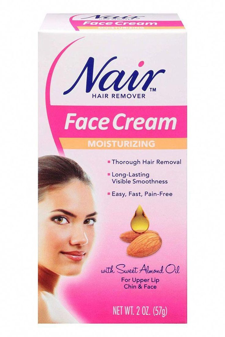 how to use nair hair removal cream