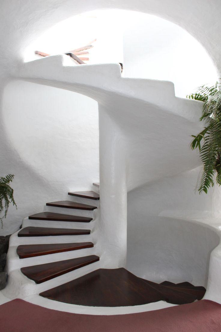 Stairs at el mirador del rio @ Lanzarote  Cesar manrique