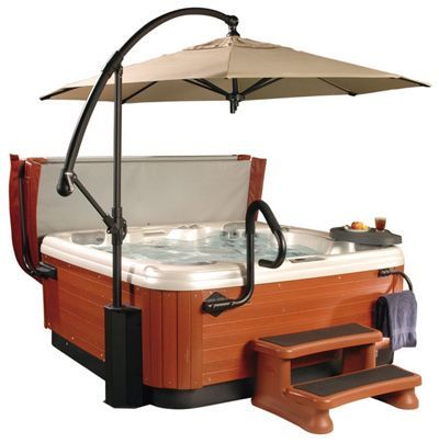 Fun and Useful Hot Tub Accessories -- exactly what we need, the old people handle!!!!