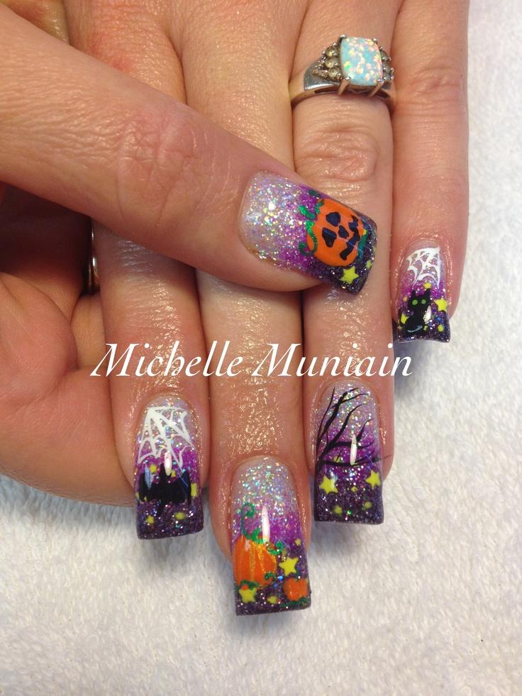 Halloween nails