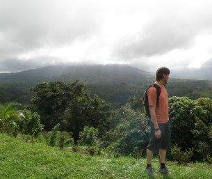 Vulkan Arenal i Costa Rica