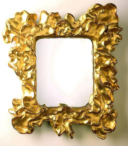Casa Mila / Ebenisterie / Grand Miroir doré