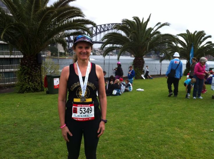 Well I did it. My first half marathon. 2:21:00 better than expected with a sore knee. Brilliant day