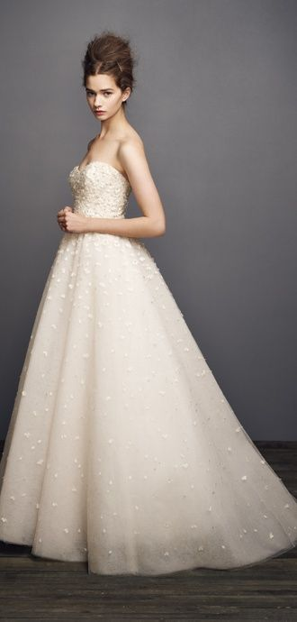 "Christos ""Peony"" wedding gown"