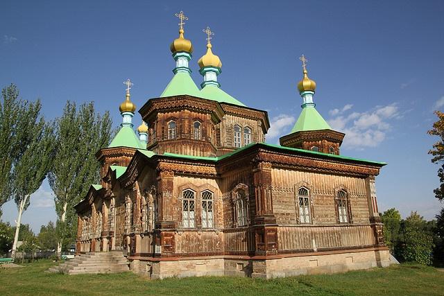 Holy Trinity Cathedral, Karakol, Kyrgyzstan