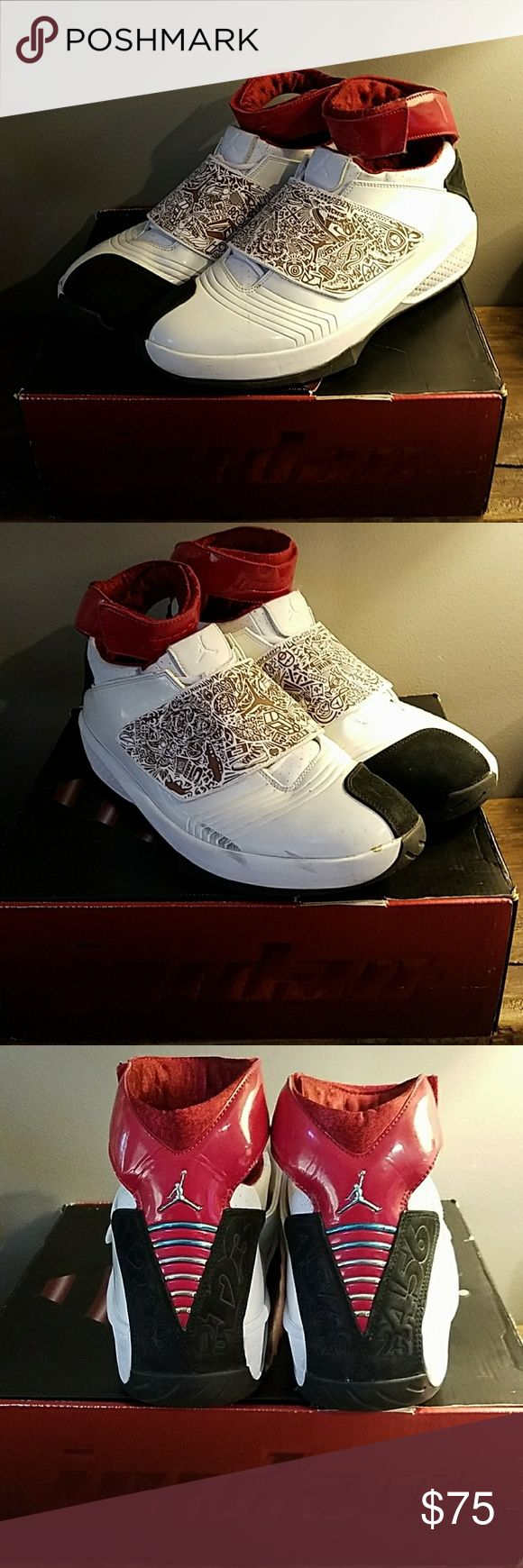 Jordan 20 quickstrike size 11.5 Pre-owned. Scuffs as seen in pictures. With box. Jordan Shoes Sneakers