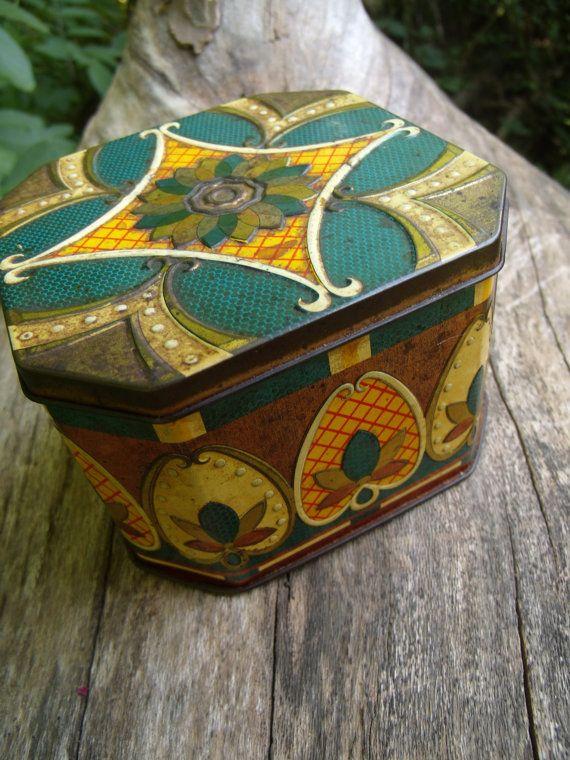 Unique Vintage Tin Box by TymelessTrinkets on Etsy, $28.00