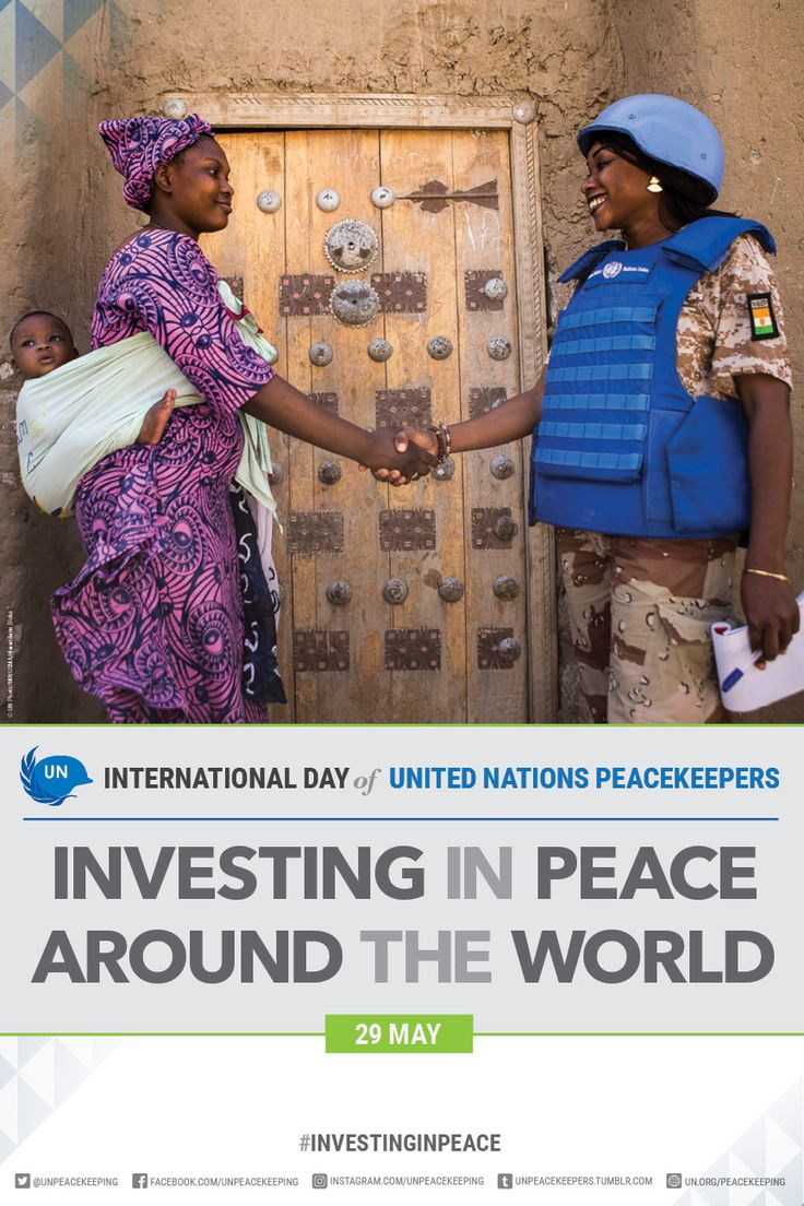 International Day of United Nations Peacekeepers. United Nations Peacekeeping