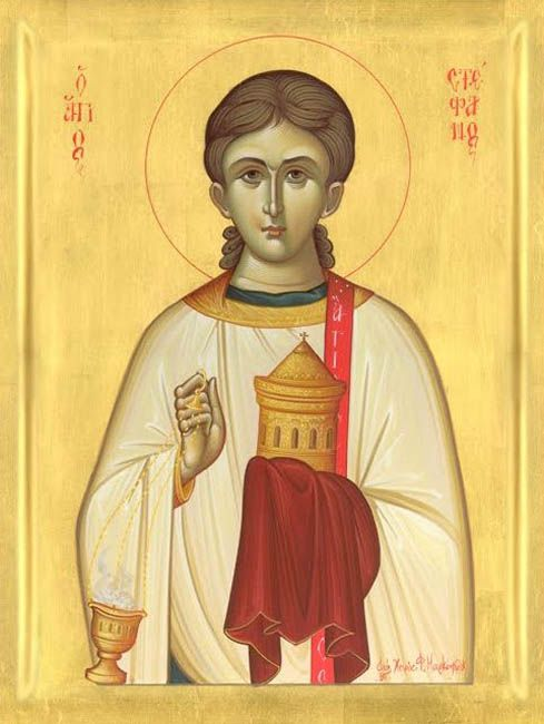 ICON St. Stephen, The Protomartyr and Archdeacon