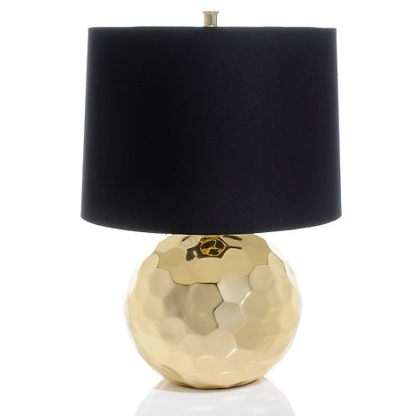Nate Berkus™ Handcrafted Orbit Table LampNate Berkus, Coffee Tables, Table Lamps, Entry Tables, Living Room, Black Gold, Tables Lamps, Handcrafted Orbit, Orbit Tables