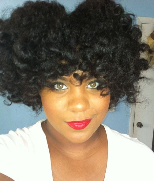 bantu knot out on short natural hair | Recent Photos The Commons Getty Collection Galleries World Map App ...