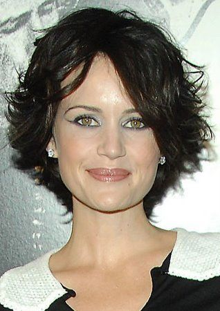 carla gugino short hair | ... Hair > Celebrity Hair Talk > Carla Gugino goes short > Page 1