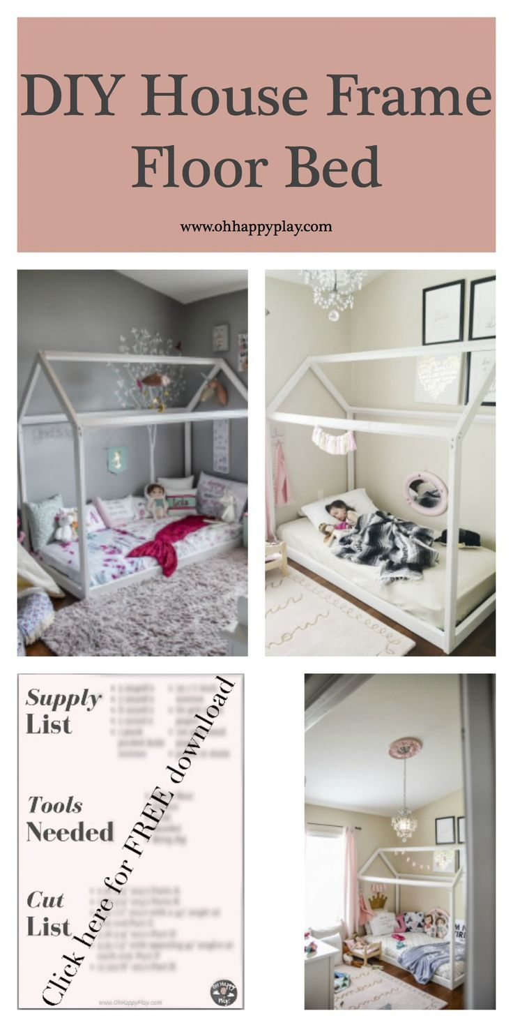 Best 25 toddler bed ideas on pinterest toddler rooms On the floor bed frames