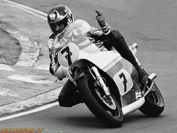"""""""I decided there and then to sue the bastards.""""  - Barry Sheene"""