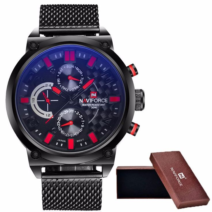 2016 Mens NAVIFORCE Luxury Brand Analog! http://mobwizard.com/product/2016-mens-naviforce32663675729/  #watch #watches #fashion #man #woman #classic #luxury #newdesign #leather