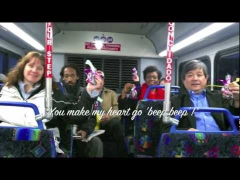 The #GoLove Team hit the RTC early on February 14th to spead a little Valentine's Day joy in the name of TRANSIT!