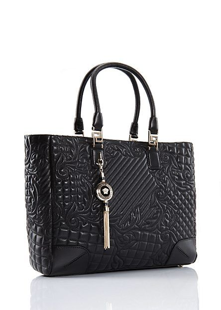 "Versace | Elettra Quilted ""Vanitas"" Bag 