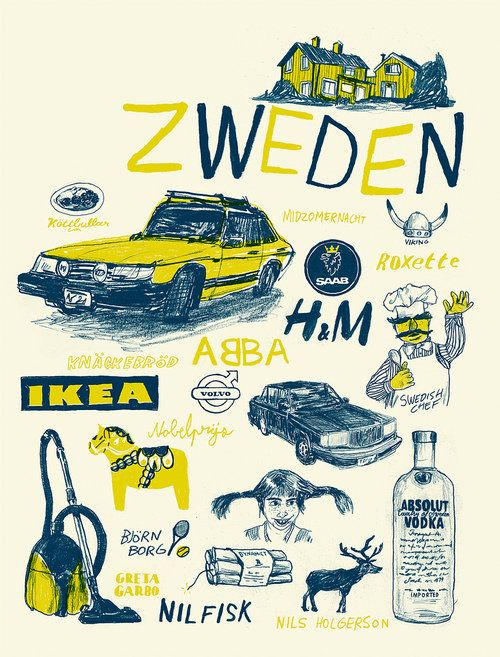 Lol- I think w/ my Saab, my Electrolux, my love for IKEA, Swedish design, and Swedish Fish (Ok, I'm stretching there) - I need to take a trip!