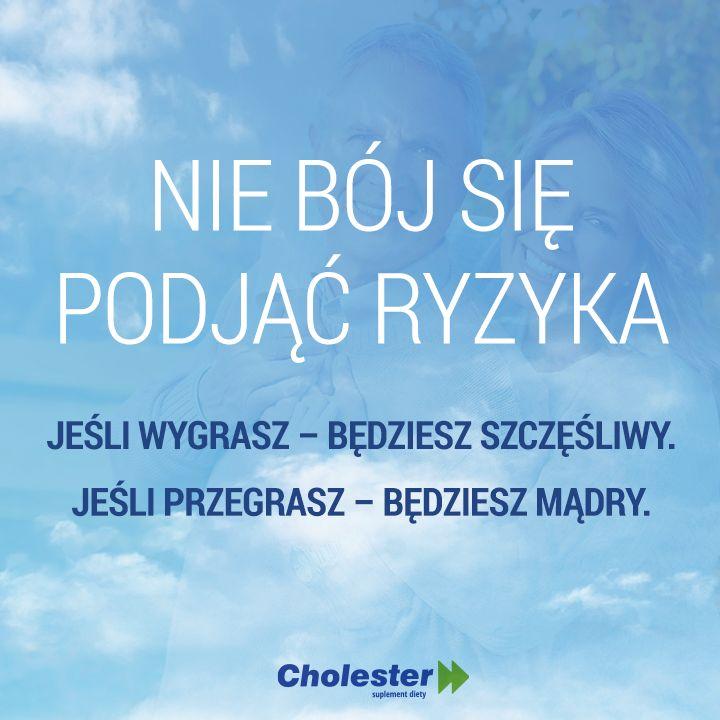 Ryzyko jest wpisane w każde działanie. Wystarczy, że się odważysz! #motywacja #cholester #trening #zdrowie