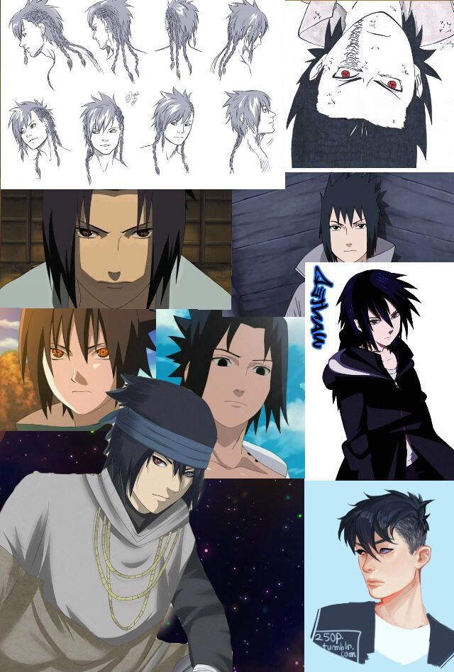 """@theobitouchiha: """"A moment of appreciation for Sasuke's hair changes. #truededication"""" - Azryn Belle"""