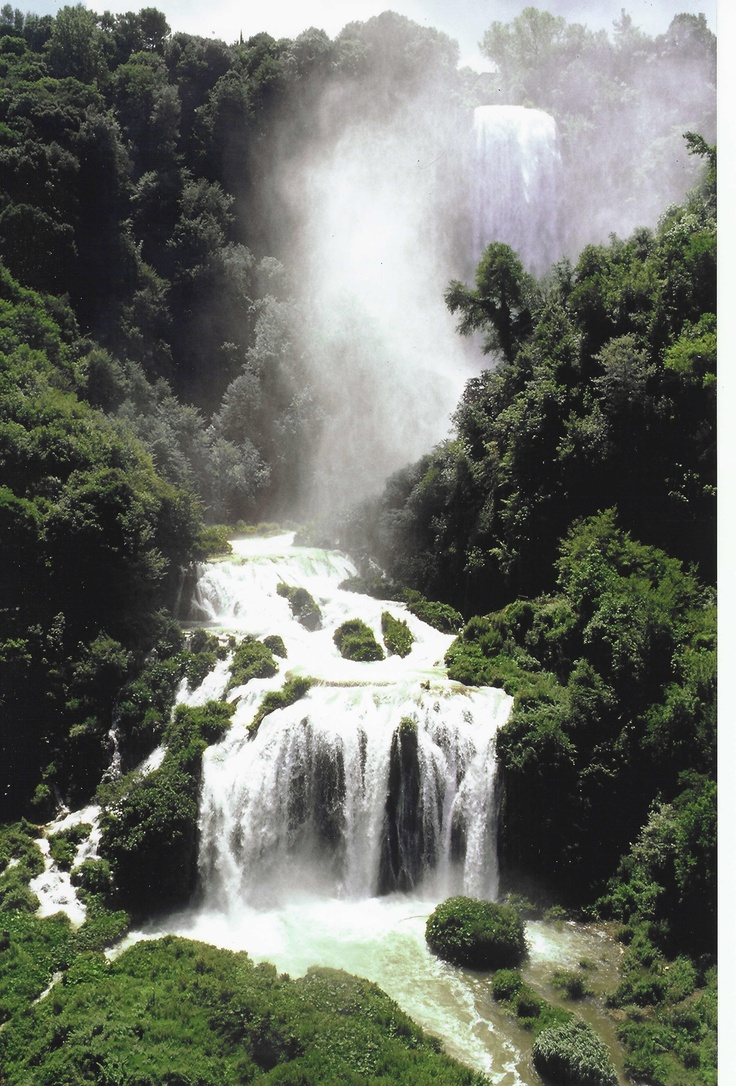 I promise to come back and see the Falls of Marmore in Terni Italy.