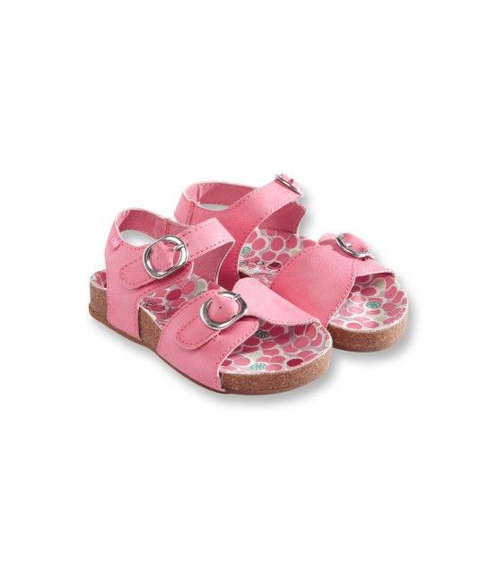 Sandalettes à scratchs - Rose - Nos sélections - Obaïbi & Okaïdi
