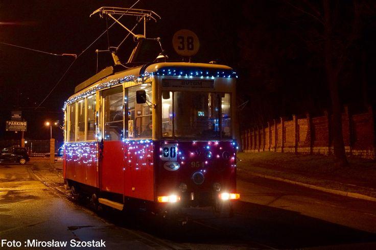 Świąteczny tramwaj | Bytom | fot. Mirosław Szostak