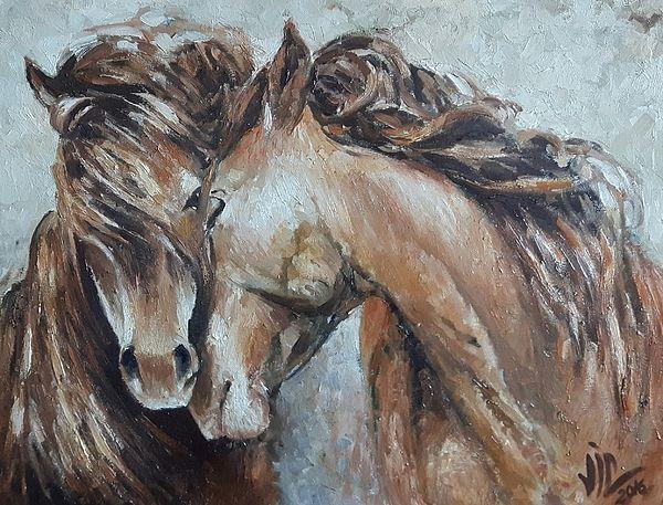 A Painting about Love by Vali Irina Ciobanu