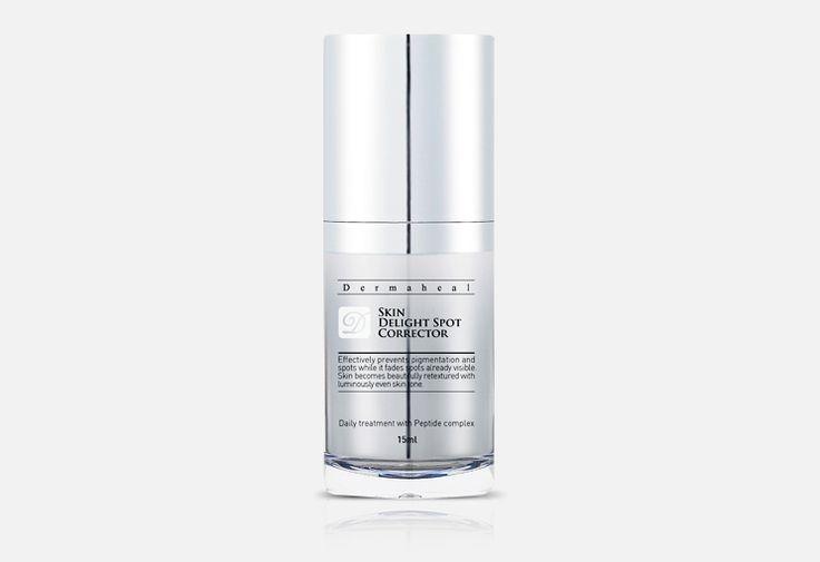 El corrector de manchas Dermaheal Delight 15 ml permite tratar las manchas que atacan tú piel, generando un tono de piel más joven, suave y luminoso