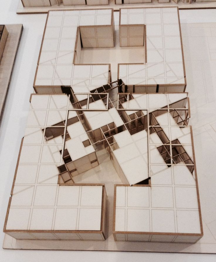 AA School of Architecture exhibition model 2014