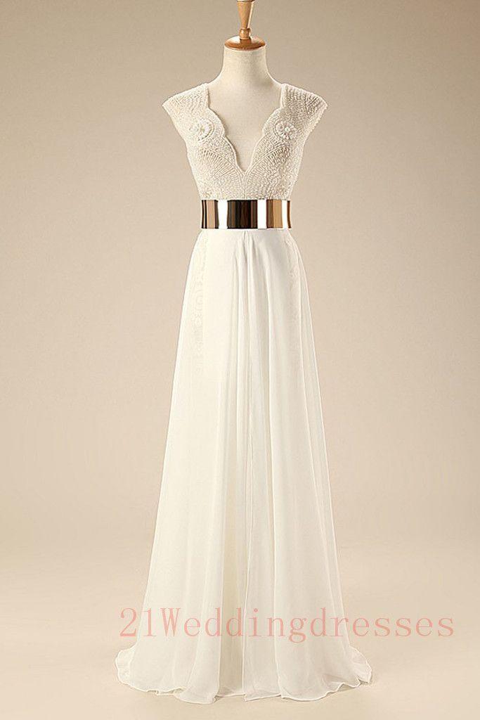 Top Sales White Beach Wedding Dresses,Simple Prom Dresses http://21weddingdresses.storenvy.com/products/15611346-top-sales-white-beach-wedding-dresses-simple-prom-dresses