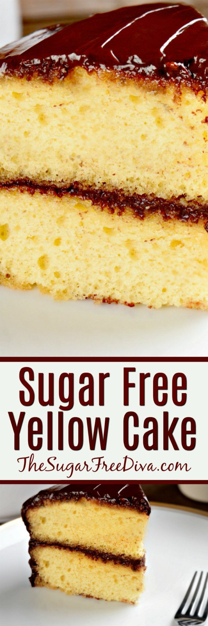 A Basic and Easy Sugar Free Yellow Cake Recipe