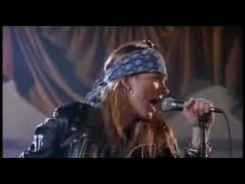 Guns N' Roses - Sweet Child O' Mine (Full Version) The hair. The leather. The music.