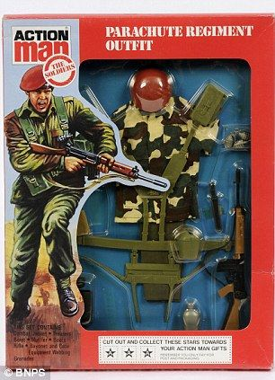 Action Man Parachute Regiment.............;]