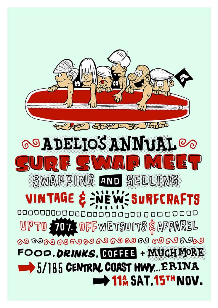 ADELIO'S 2ND ANNUAL SURF SWAP MEET
