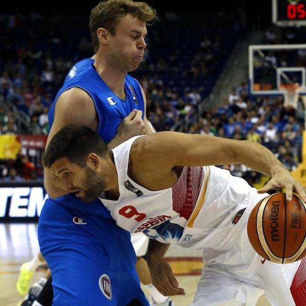Nicolo #Melli #Italia contro Felipe #Reyes #Spagna
