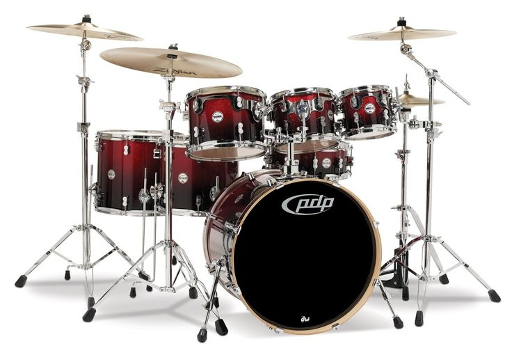 You can find a selection of PACIFIC DRUMS including this PACIFIC DRUMS PDCM2217RB 7-PIECE DRUM SET WITH CHROME HARDWARE-RED TO BLACK FADE at jsmartmusic.com